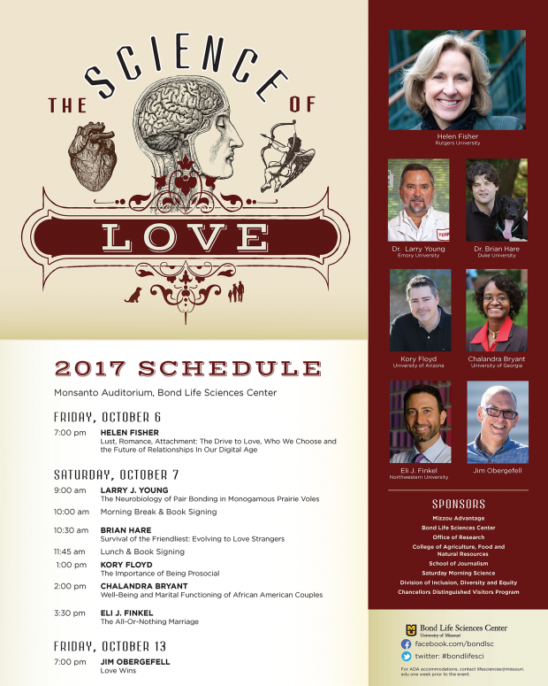 LSSP 2017 Science of Love