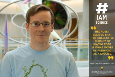 Christopher Garner #IAmScience