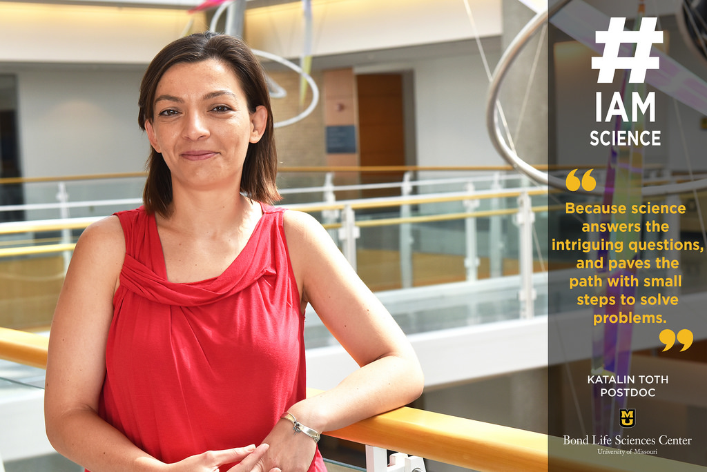 #IAmScience Katalin Toth