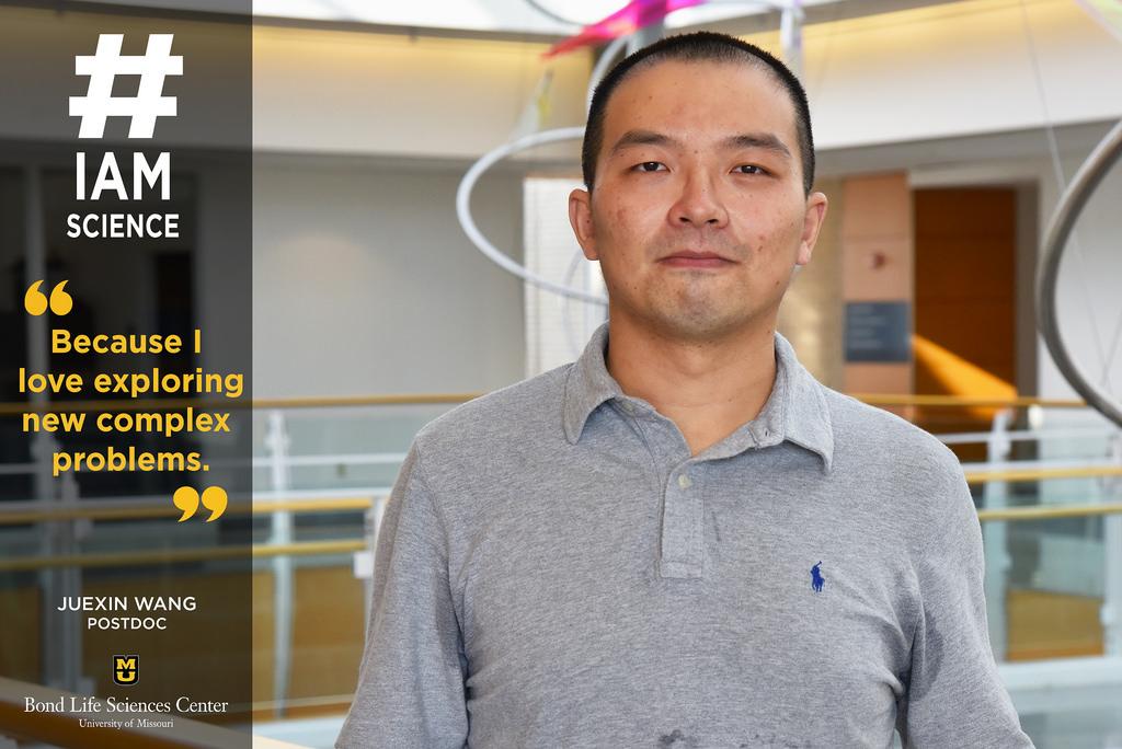 #IAmScience Juexin Wang